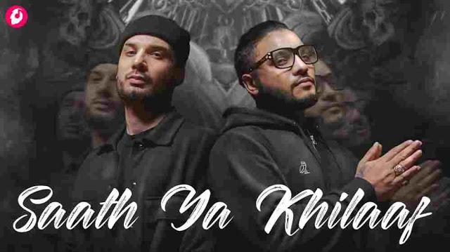 Saath Ya Khilaaf Lyrics in English – Krsna & Raftaar