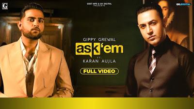 ASK THEM Lyrics : Gippy Grewal Ft. Karan Aujl