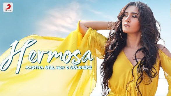 Aastha Gill - Hermosa Song Image - LyricsSawan