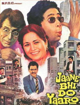 Jaane Bhi Do Yaaro Film Poster