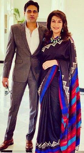 Divya Seth and Her Husband
