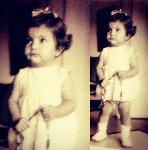 Divya Seth at the Age of 2