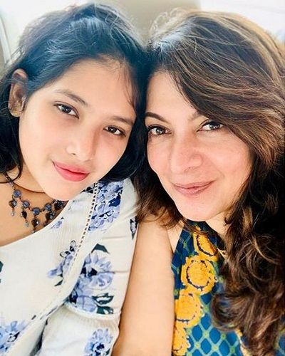 Divya Seth With Her Daughter