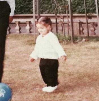 Shehzad Deol in childhood