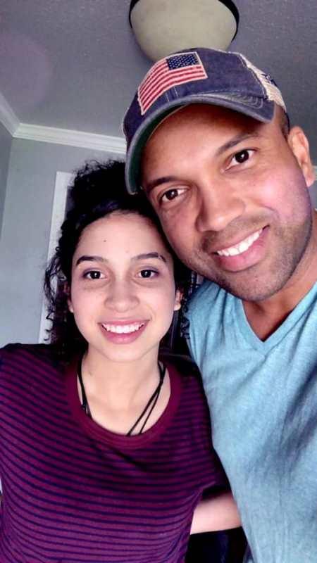 Coffey Anderson with his daughter Savannah Jean Anderson