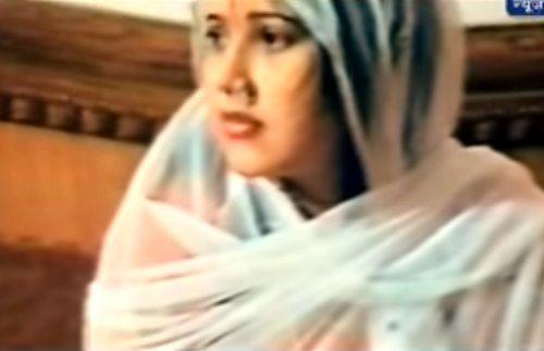 Radhe Maa Wearing White Dress