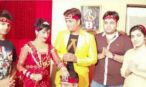 Radhe Maa With Ravi Kissen