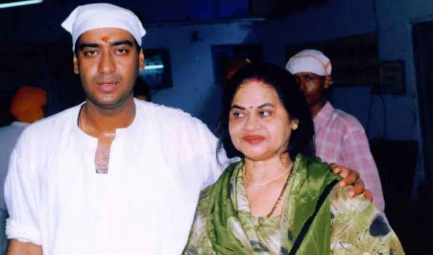 Veena Devgan With Ajay Devgan