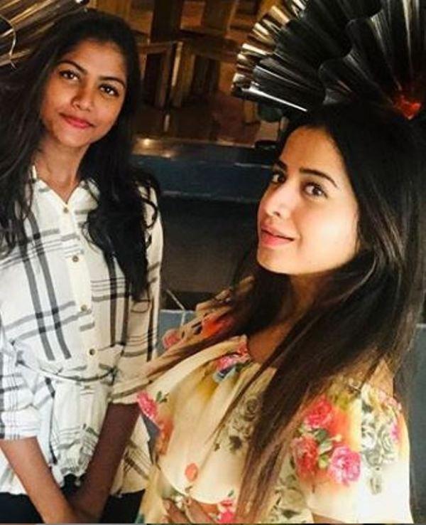 Swathi Deekshith's sister