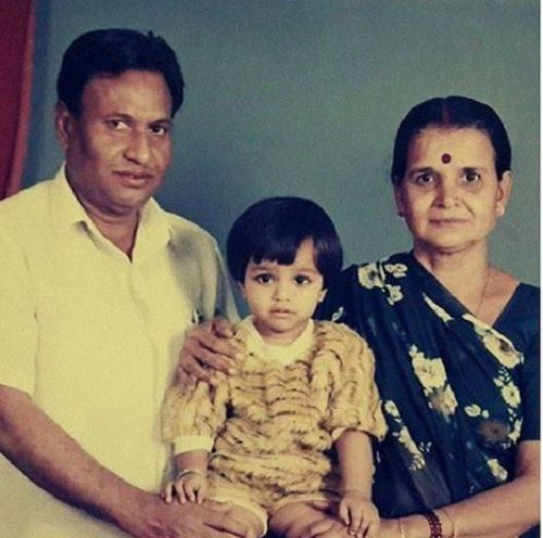 Nidhi Moony Singh With Her Grandparents