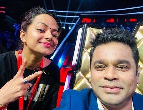 Nidhi Moony Singh on the Sets