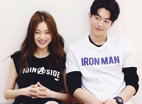 Nam Joo-hyuk with Lee Sung-kyung