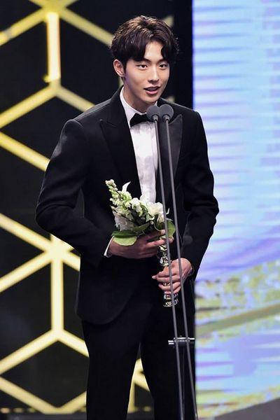 Nam Joo-hyuk Giving his Award Acceptance Speech at MBC Drama Awards
