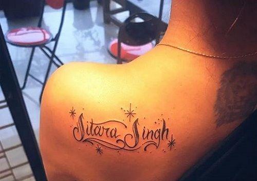Nidhi Moony Singh's Tattoos