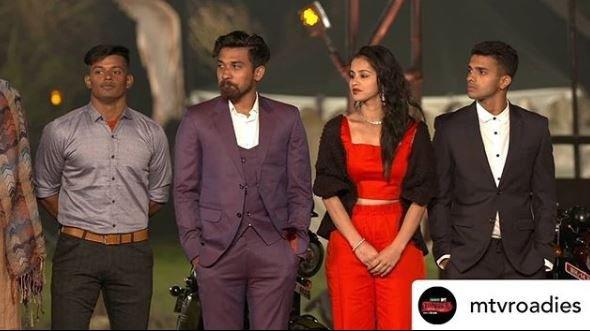 Nisha Dhaundiyal in MTV Roadies Revolution
