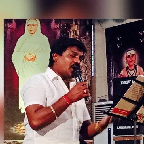 Velmurugan While Singing