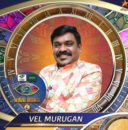 Velmurugan in Bigg Boss