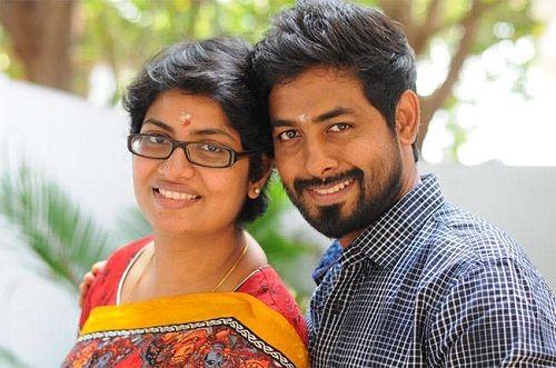 Aari Arjuna With His Wife