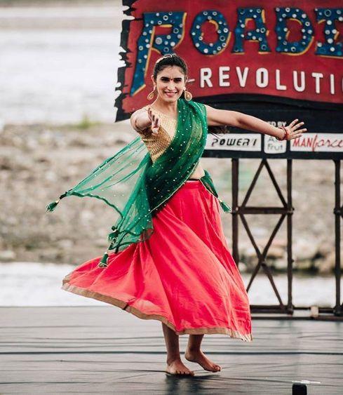 Srishti Sudhera in MTV Roadies Revolution