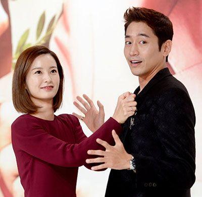 Jung Yu-mi with Eric Mun