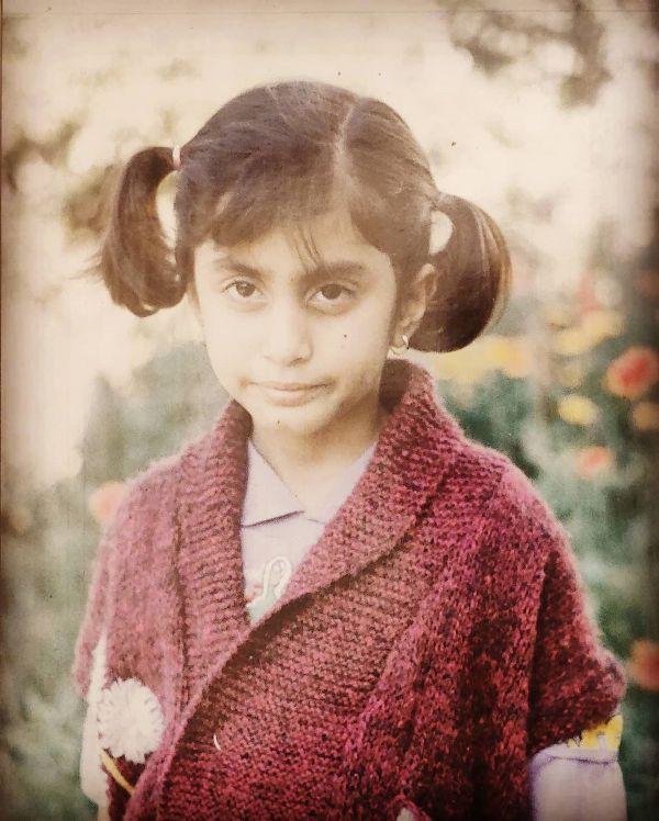 Prashasti Singh's childhood picture
