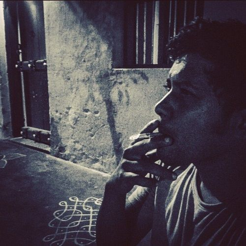 Som Shekar Smoking