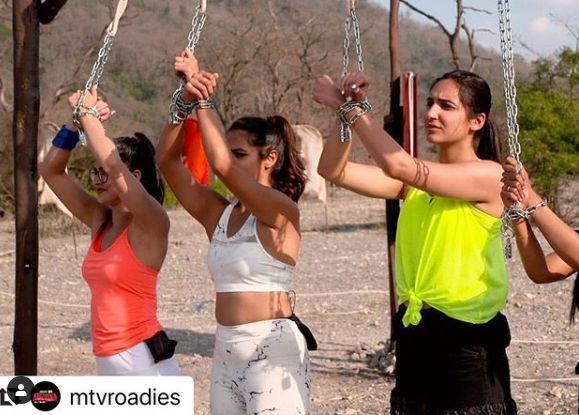 Sapna Malik in MTV Roadies Revolution
