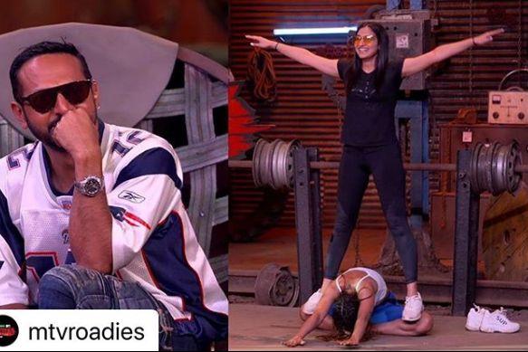 Sapna Malik during MTV Roadies Revolution audition