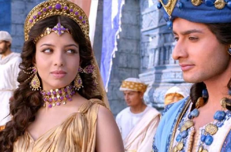 Riya Deepsi in 'Porus'