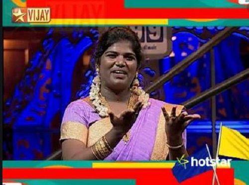 Aranthangi Nisha in Kalakkapovadhu Yaaru Season 5