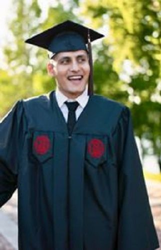 College Graduation Photo of Dhaval Panchal