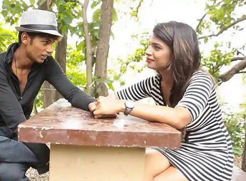 Naina Singh With Baseer Ali