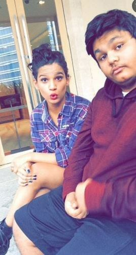 Naina Singh and Her Brother
