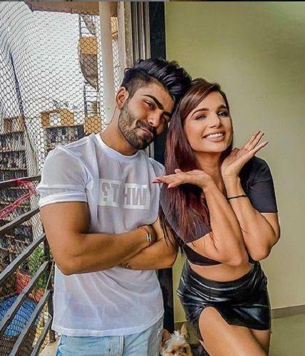 Naina Singh With Akash Choudhary