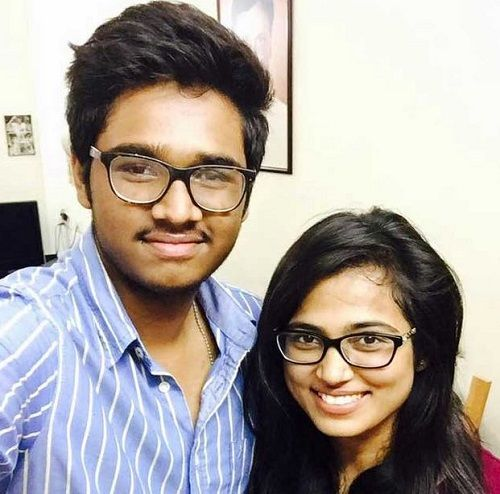 Ramya Pandian and Her Brother