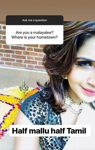 Samyuktha Karthik's Post About Her Ethnicity