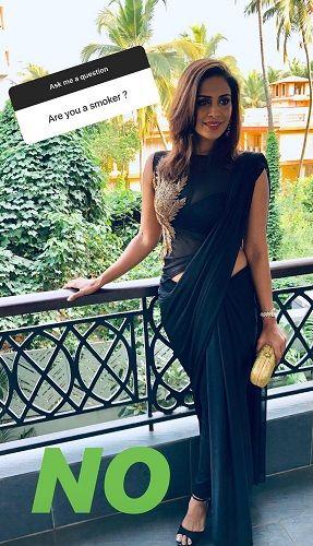 Samyuktha Karthik's Post About Smoking