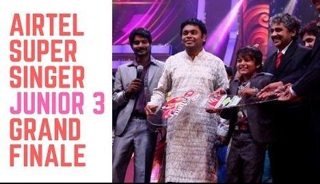 Aajeedh Khalique as the winner of Super Singer 3