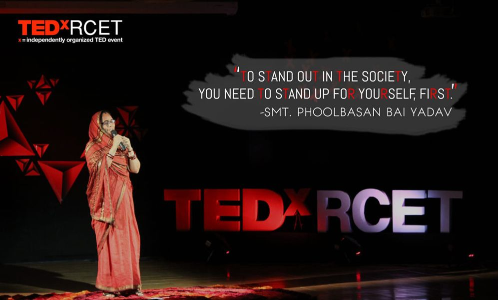Phoolbasan Yadav as a TEDx Speaker