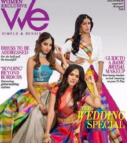 Samyuktha Karthik Featured on a Magazine Cover