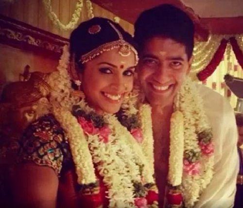 Samyuktha Karthik's Wedding Photo