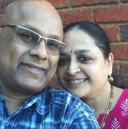 Suresh Chakravarthy and His Wife