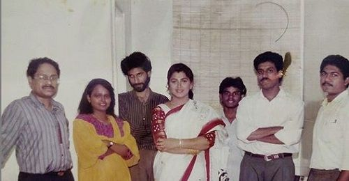 An Old Picture of Suresh Chakravarthy