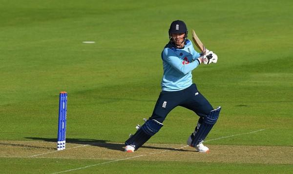 Tom Banton playing for England