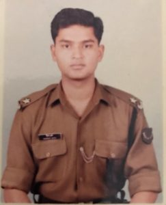 Second Lieutenant Gaurav Arya's picture from 1994