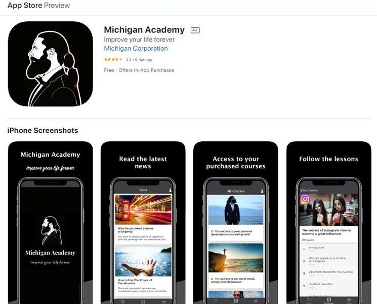 Michigan Academy App