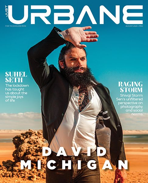 David Michigan on the Cover of Just Urbane