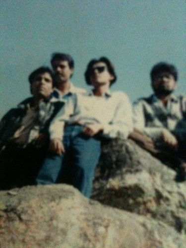 An Old Picture of Shams Tahir Khan