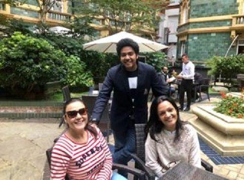 Dhruv Verma With Priety Zinta