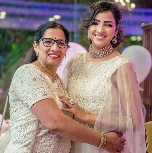 Priyanka Raina With Her Mother